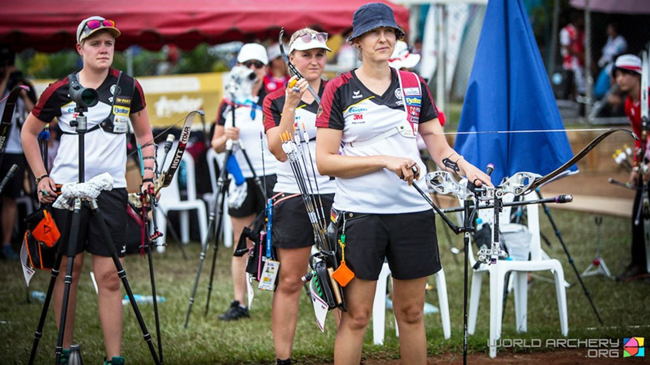 Foto: World Archery / Guter Weltcup-Auftakt für das deutsche Team beim Weltcup in Medellin.