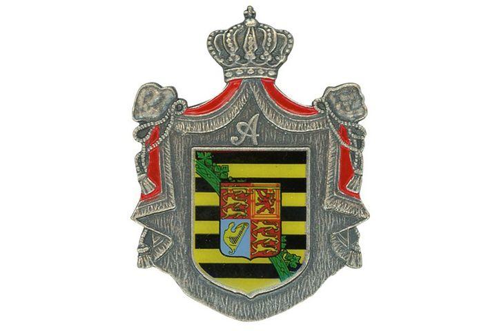 Protektoratsabzeichen Silber