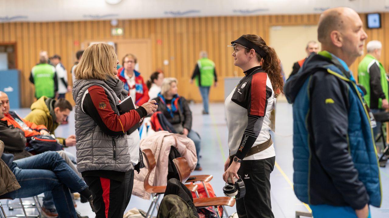 Bild: DSB / Claudia Verdicchio-Krause setzt auch in der Krise auf eine gute Kommunikation mit ihren Sportlern.
