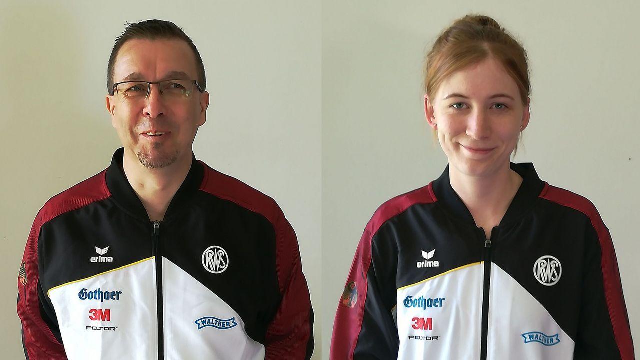 Foto: DSB / Marco Hummler und Veronique Münster wollen sich für die EM in Italien qualifizieren.