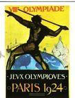 Plakat Olympische Spiele 1924