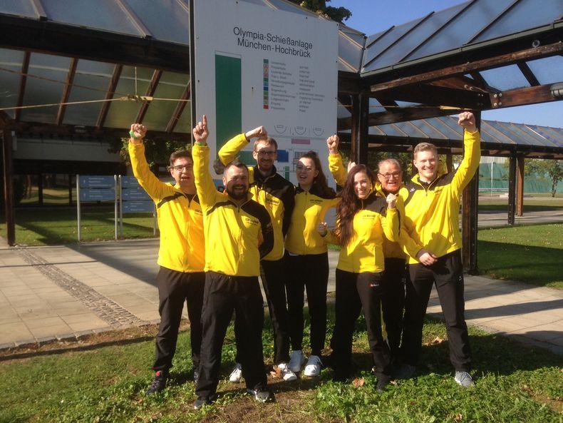 Foto: SSV Kronau: Das junge Team des SSV Kronau freute sich über den Sieg in letzter Sekunde.