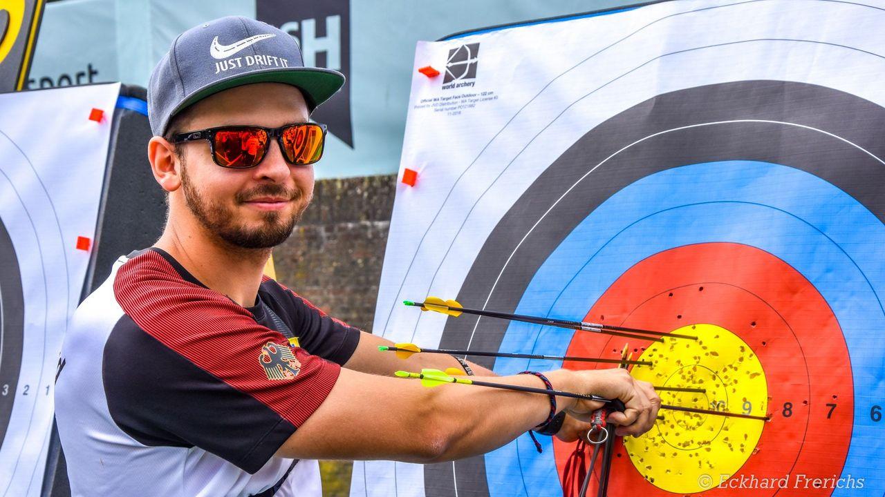 Foto: Eckhard Frerichs / Alle ins Gold! Maximilian Weckmüller will in Wiesbaden an seine Qualifikationsleistung anknüpfen.