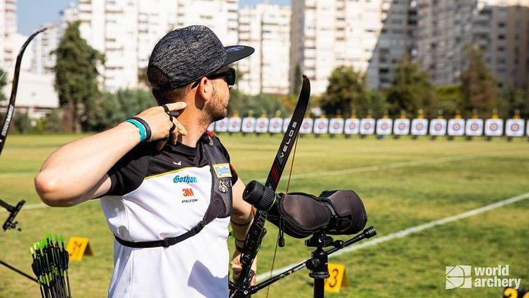 Foto: World Archery / Max Weckmüller will an die guten Leistungen bei den Grand Prix in Europa auch beim Weltcup in Guatemala anknüpfen.
