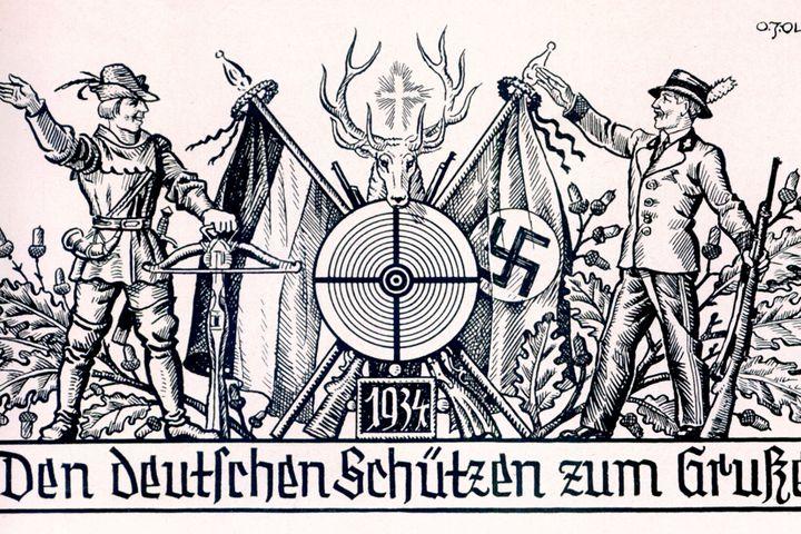 Bundesschießen Festzeitung, 1934