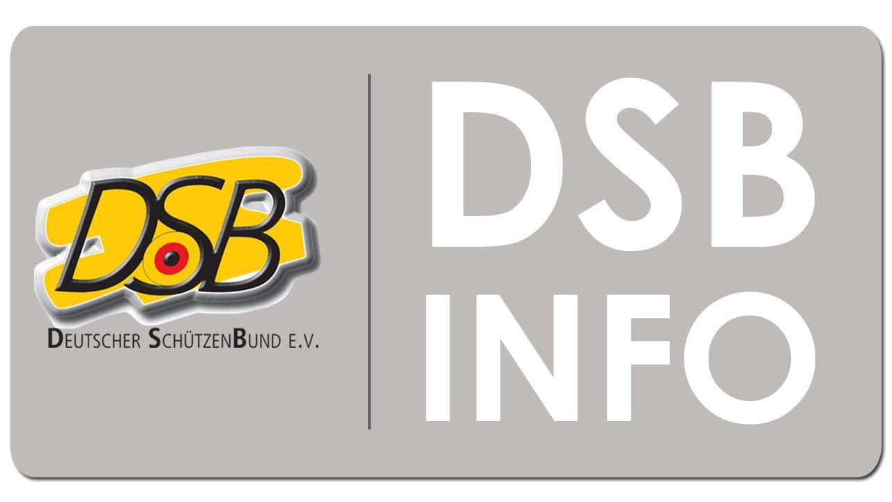 DSB gegen BMI-Bestrebungen zur Verschärfung des Waffenrechts 1