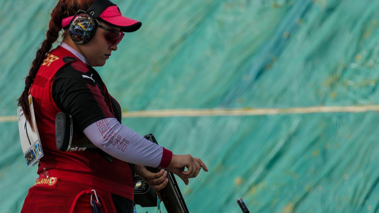 Foto: DSB / Kathrin Murche scheiterte erst im Shoot-off am Finale.
