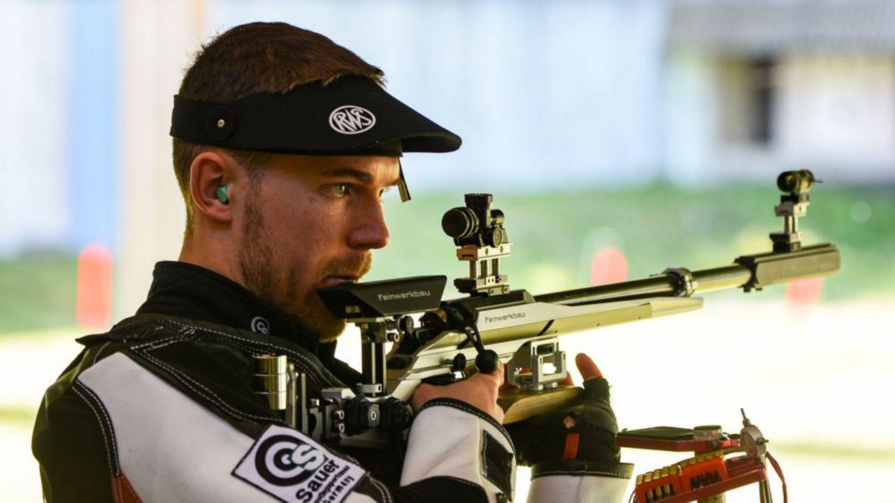 Foto: Eckhard Frerichs / Hoffnungsträger bei den Gewehr-Männern: Maximilian Dallinger.