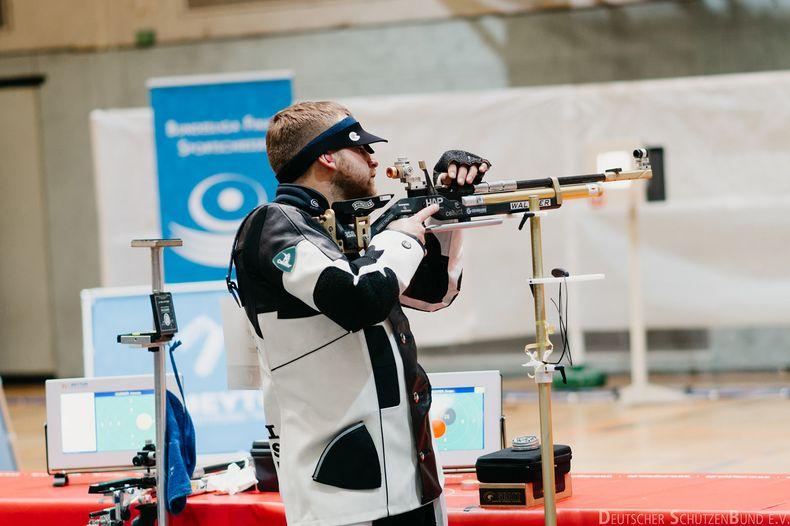 Foto: DSB / Sergey Richter (SSG Kevelaer) hat bereits einen Plan fürs Finale: Gewinnen!