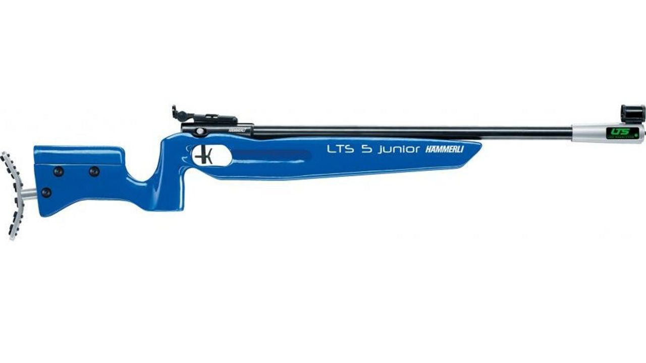Foto: Carl Walther GmbH / Das Lichtgewehr Hämmerli LTS 5 junior kann über den DSB ausgeliehen werden.