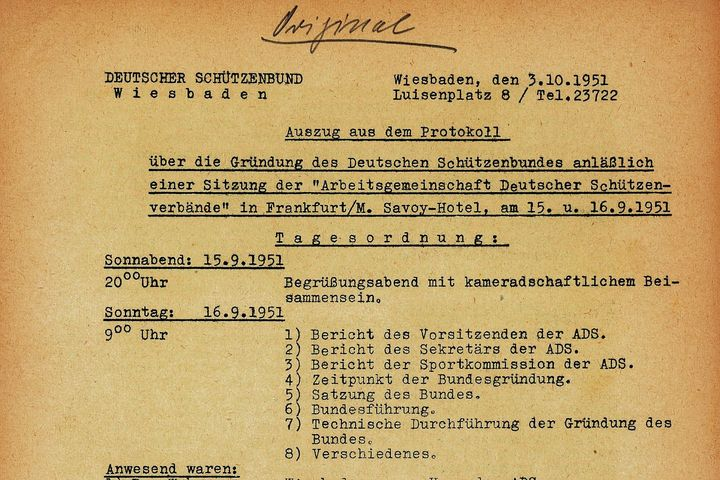 Wiedergründung DSB, 1951
