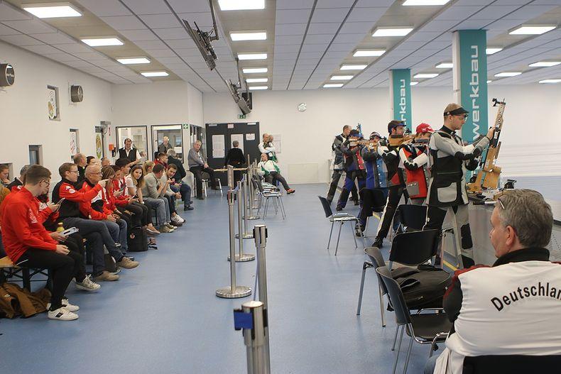 """Foto: BSSB / Die Premiere des IAU Weltcup-Finals fand bei der Kgl. Priv. FSG """"Der Bund"""" Allach statt."""