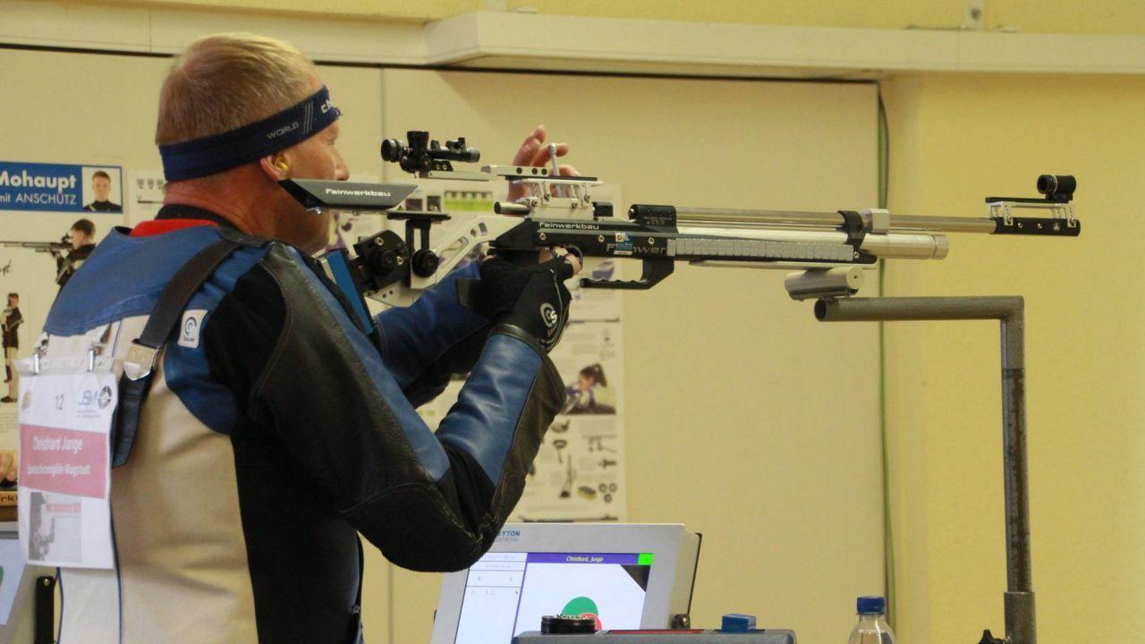 Foto: DSB / Christhard Junge war begeistert vom Meisterschützen-Wettbewerb.