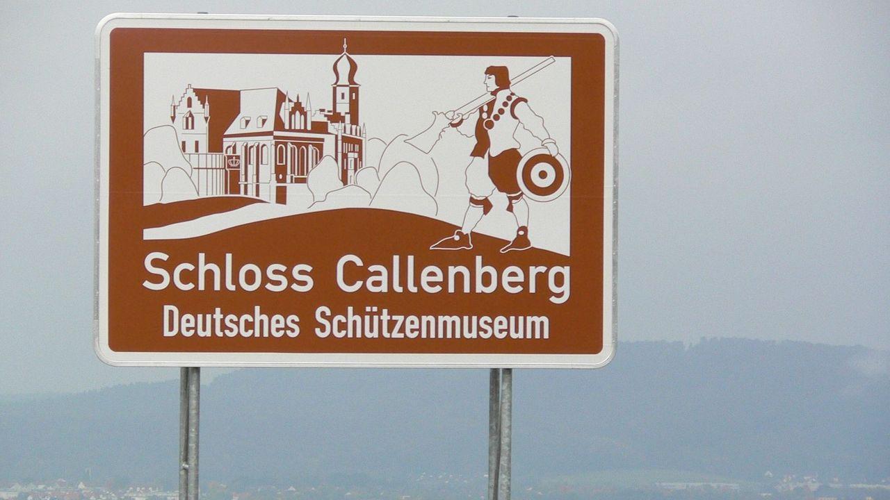 Foto: DSB / Immer eine Reise wert, das Deutsche Schützenmuseum in Coburg. Einblicke geben nun die Online-Führungen.