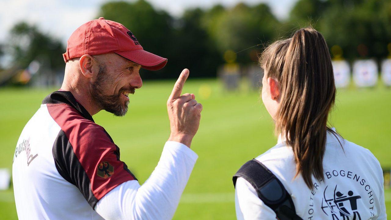 Bild: DSB / Wer wie Marc Dellenbach Trainer werden will, kommt um eine Trainerlizenz nicht drumherum.