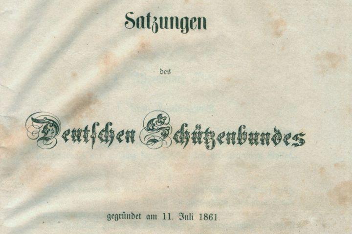 Satzung des DSB, 1861