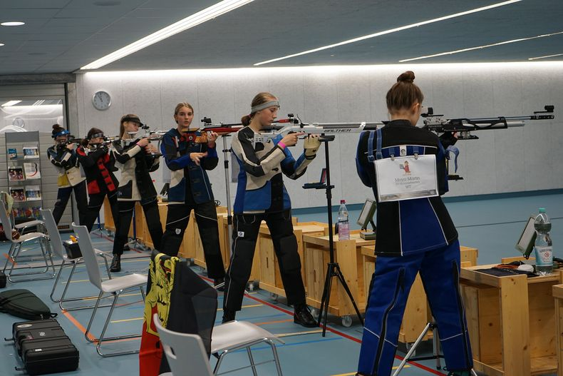 Foto: DSJ / Die jungen Schützen zeigte beeindruckende Leistungen mit Luftgewehr und Luftpistole.