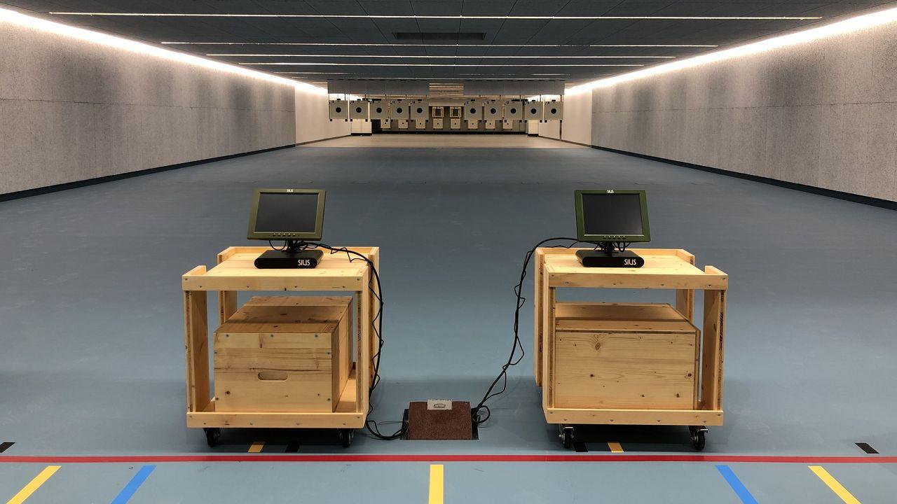 Bild: DSB / Die neue Schießhalle des Bundesstützpunktes in Wiesbaden soll 2021 Ort zahlreicher Lehrgänge sein.