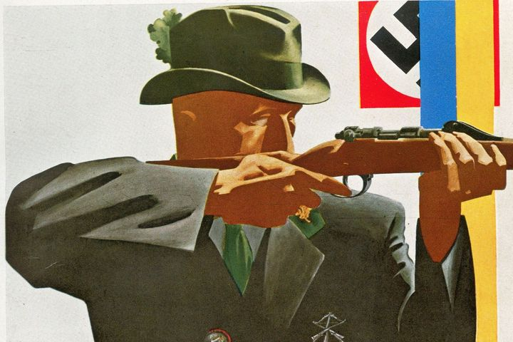 Plakat Bundesschießen, 1934