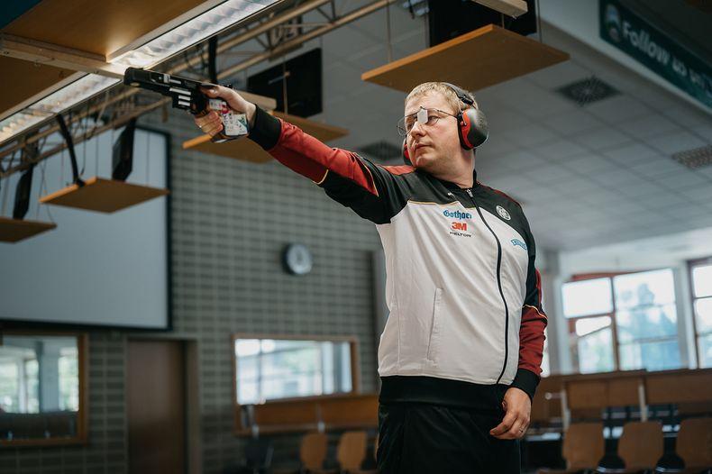 Bild: DSB / Christian Reitz ist mit zwei Olympiamedaillen der bislang erfolgreichste Athlet im aktuellen DSB-Team-Tokio.