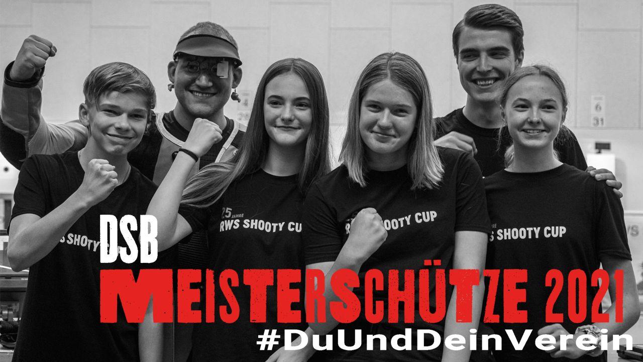 """Foto: DSB / Der """"Meisterschütze #DuUndDeinVerein"""" kehrt zurück - am 1. April geht es los!"""