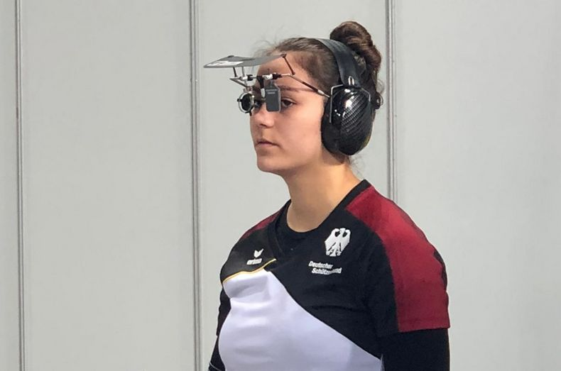 Foto: DSB / Bot über weite Strecken eine konzentrierte Leistung, die mit Platz zehn belohnt wurde: Andrea Heckner.