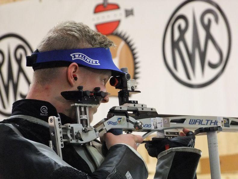Foto: Michael Eisert / Colin Fix belegte Platz 6 im Gewehr-Dreistellungskampf.