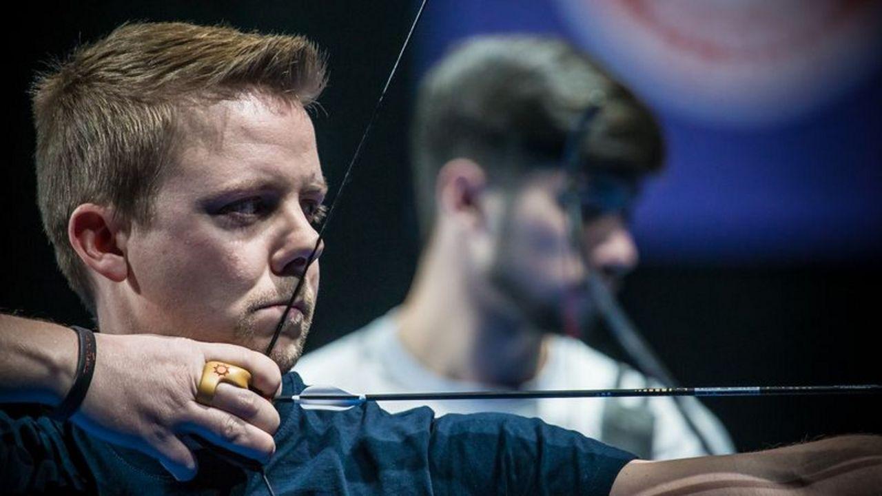 Foto: World Archery / Aktuell Dritter der Hallen-Rangliste Recurve: Cedric Rieger.