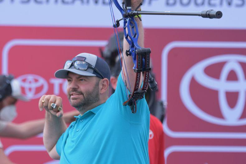 Foto: Eckhard Frerichs / Jubel bei Sebastian Hamdorf nach seinem Finalsieg über Kumpel Marcus Laube.