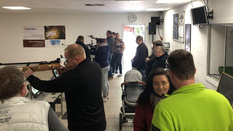Foto: SV Folmhusen / Der Tag der offenen Tür beim Schützenverein Folmhusen fand eine große Resonanz.
