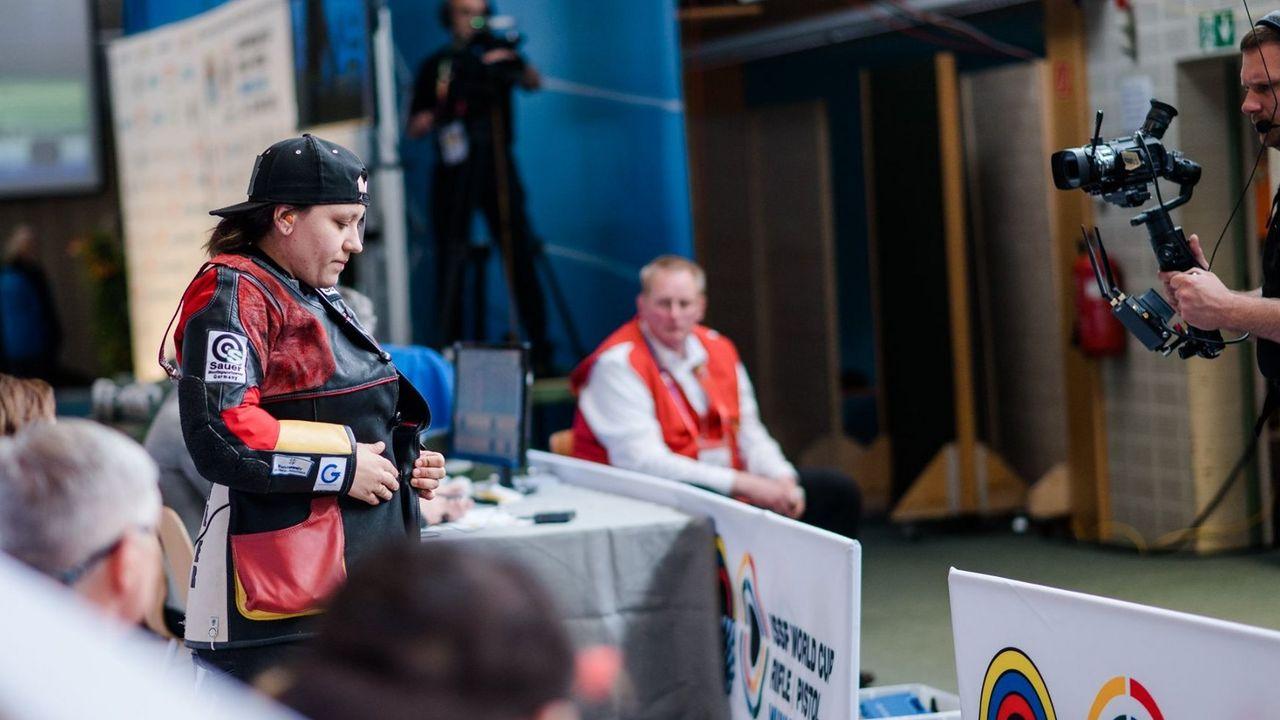 Foto: DSB / Jolyn Beer unternimmt in Minsk den nächsten Anlauf auf einen olympischen Quotenplatz.