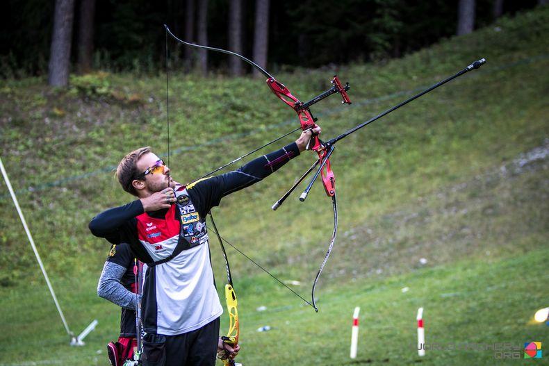 Foto: Dean Alberga/World Archery / Die deutsche Feldbogen-Elite ist am Wochenende zu Gast in Mittenwald.