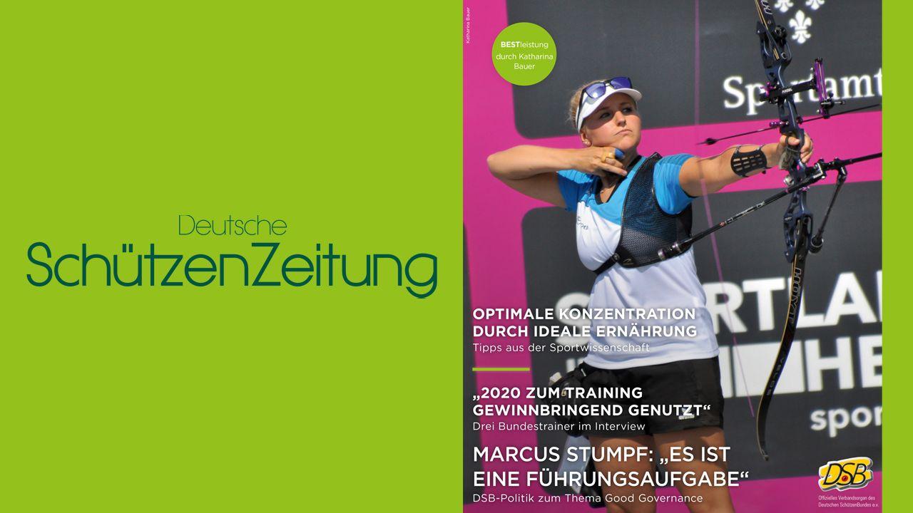 Deutsche SchützenZeitung Ausgabe 3/2021
