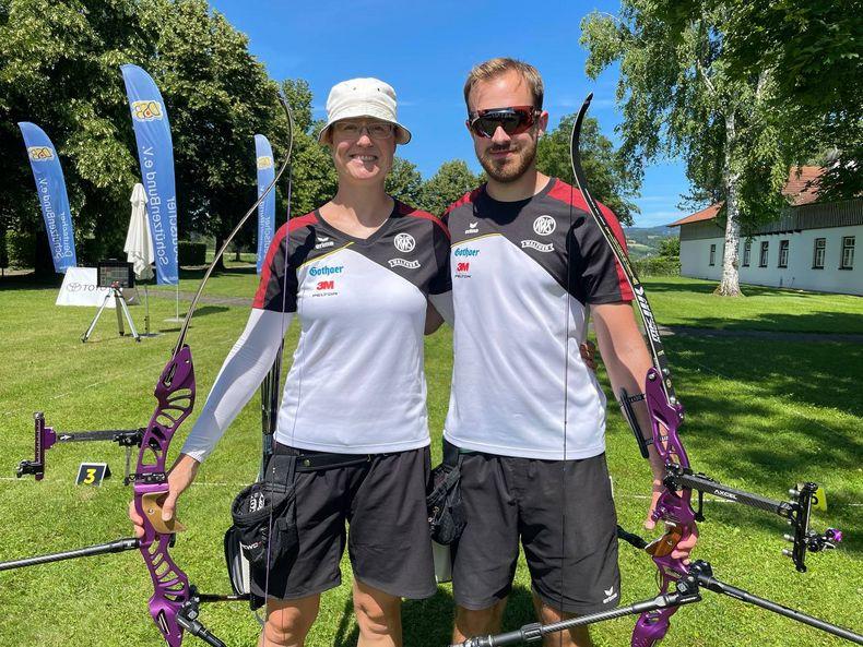 Foto: DSB / So könnte das deutsche Mixed-Team in Tokio aussehen: Lisa und Florian Unruh.