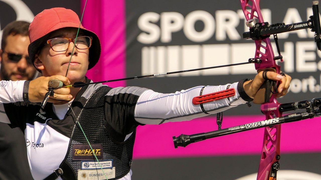 Bild: Eckhard Frerichs / Elisa Tartler entschied sich nach ihrem Abitur für einen Weg als Sportlerin bei der Bundespolizei.