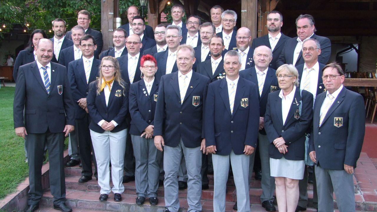 Foto: DSB / Das erfolgreichste deutsche Team aller Zeiten bei einer MLAIC-EM.
