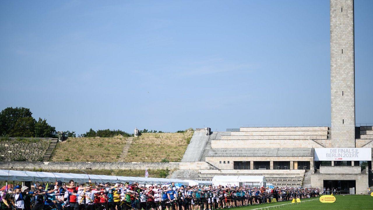 Foto: DSB / Ein Foto aus besseren Tagen. Bis zum 31. August wird es definitiv keine internationalen Wettkämpfe im Bogensport geben.