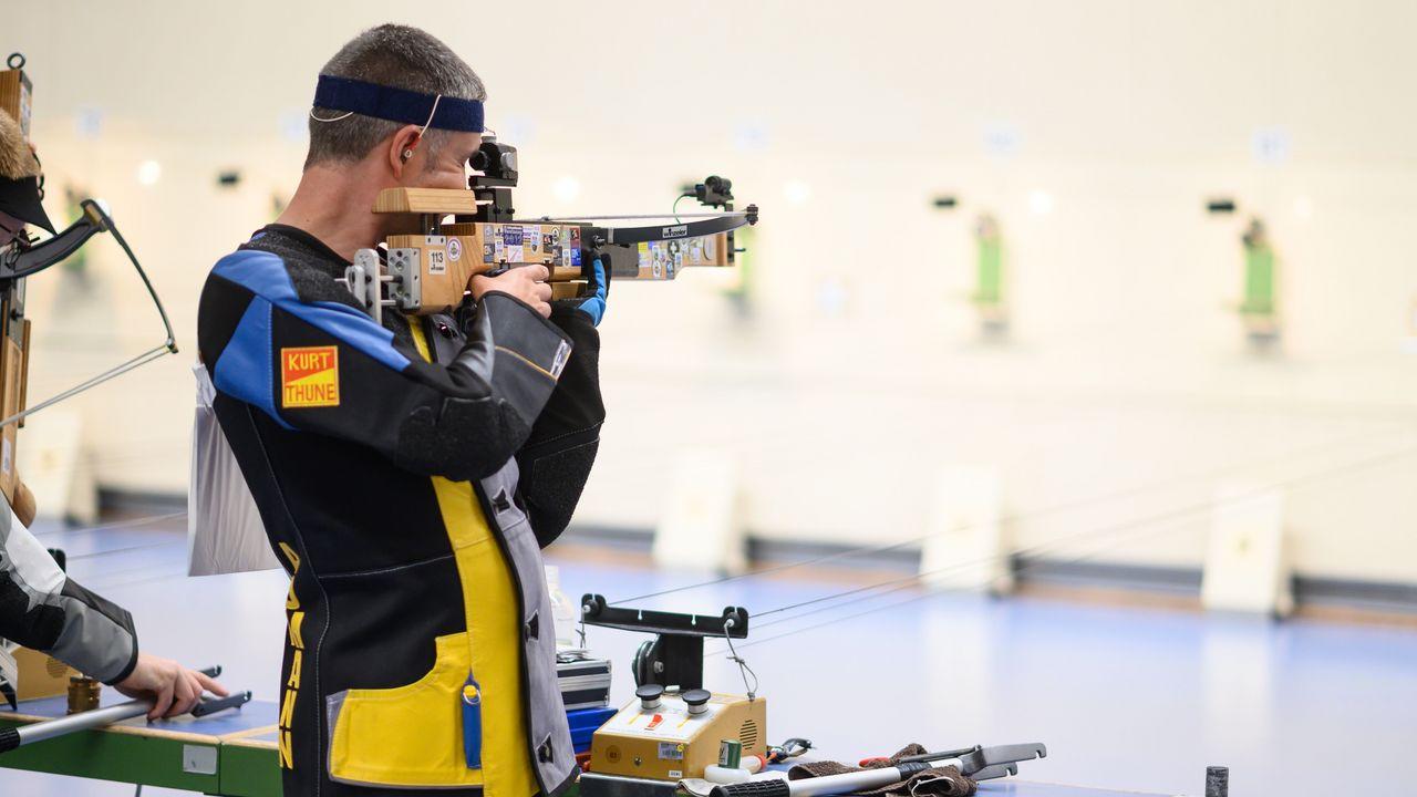 Foto: DSB / Für Thomas Aumann ist das Weltcup-Finale mit der Armbrust ein letztes großes Highlight seiner internationalen Karriere.
