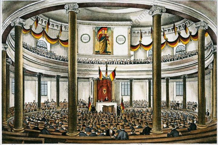 Eröffnung Nationalversammlung, 1848