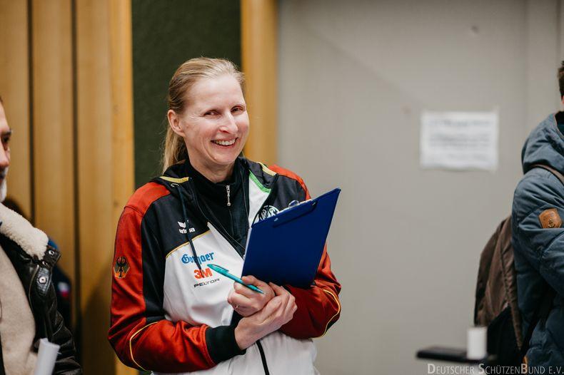 Bild: DSB/ Für Gewehr-Nachwuchs-Bundestrainerin Claudia Kulla ist es wichtig, den Junioren Raum für ihre Entwicklung zu lassen.