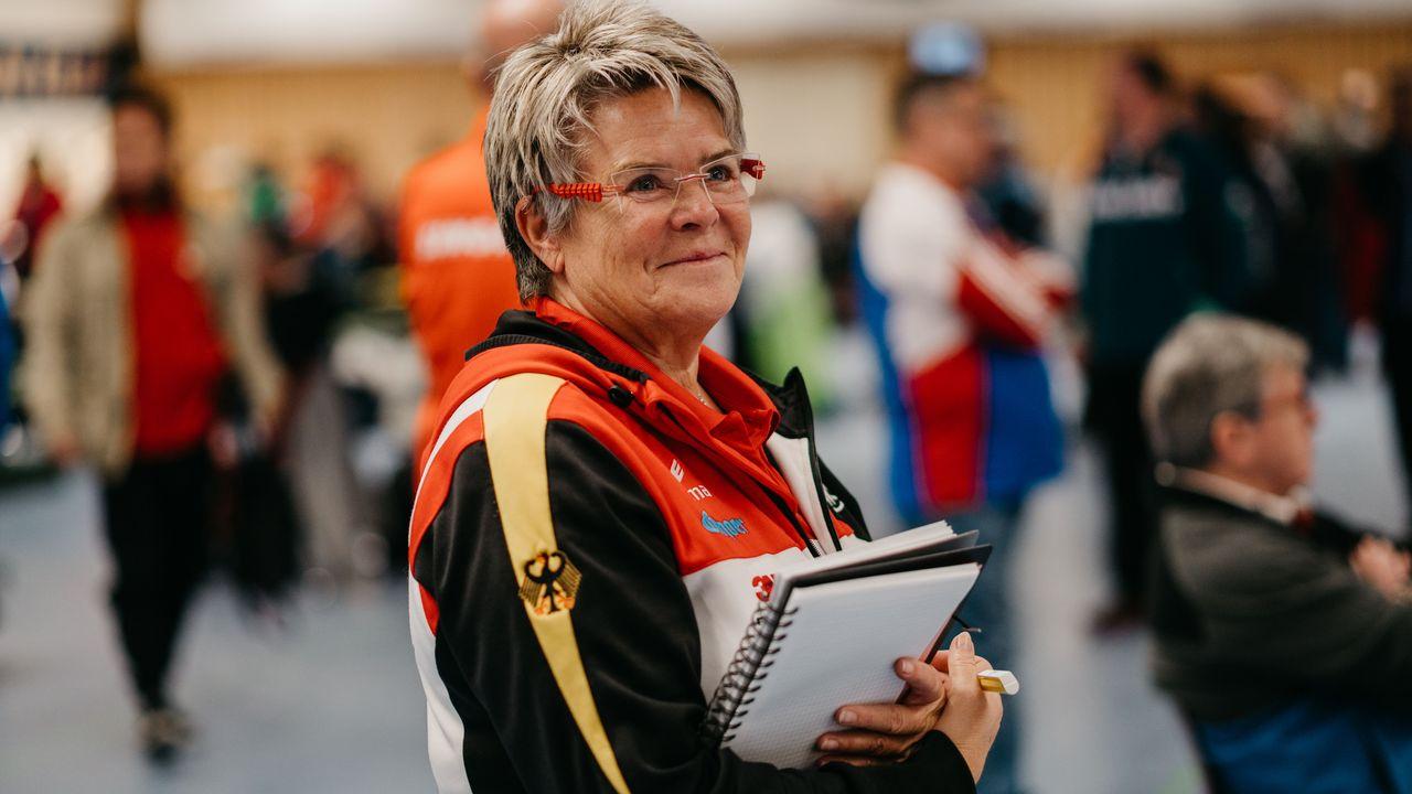Foto: DSB/ Bärbel Georgi blickt positiv gestimmt in Richtung Europameisterschaft.