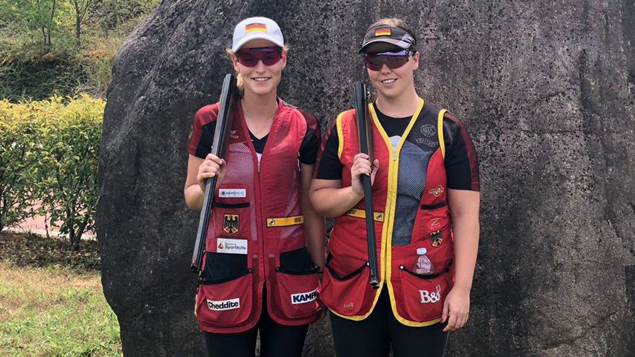 Foto: DSB / Katrin Wieslhuber und Nadine Messerschmidt hatten sich mehr bei der WM erhofft.