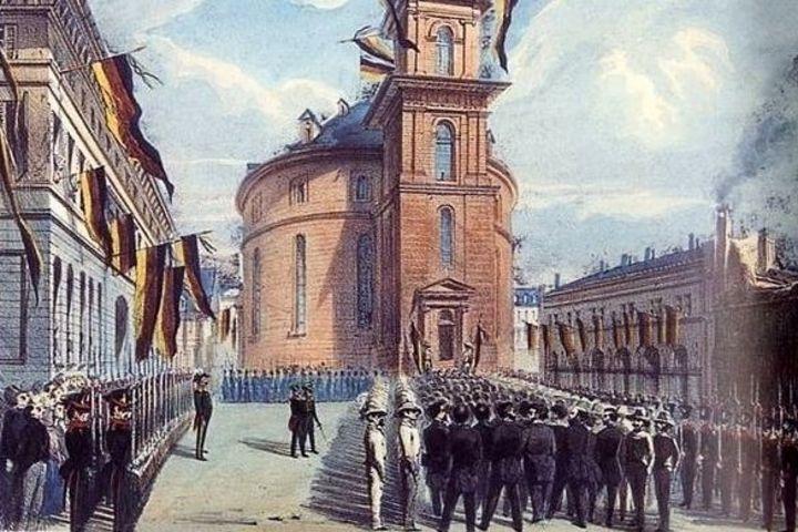 Paulskirche, Frankfurt am Main, 1848-1849