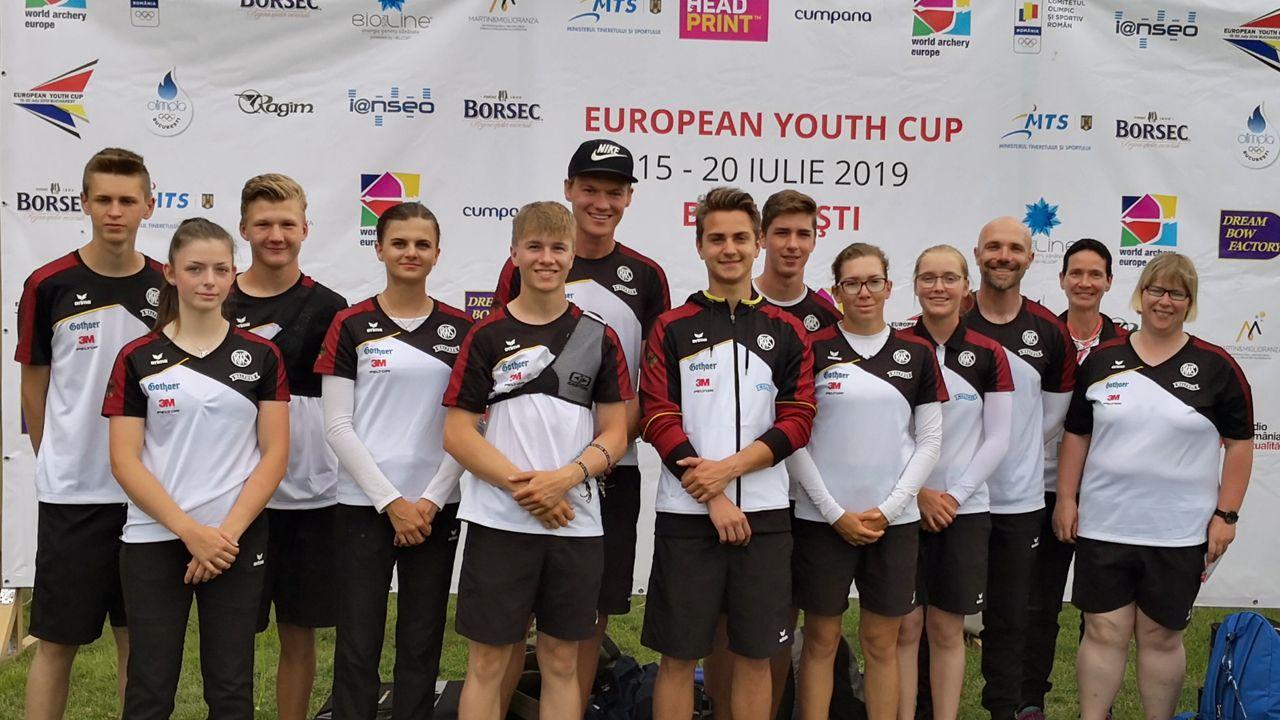 Foto: DSB / Das deutsche Team stellt sich dem letzten Test vor der Junioren-WM.