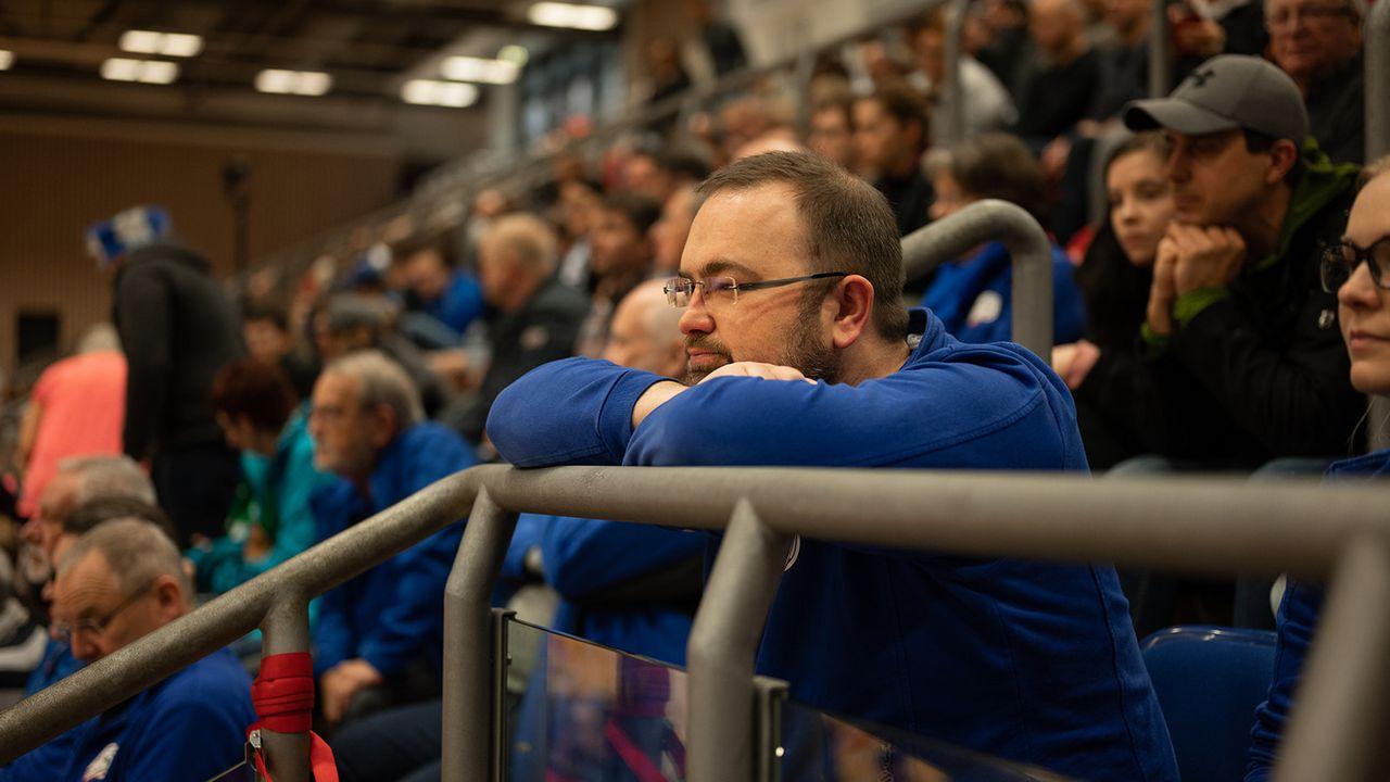Bild: DSB / Statt einen Blick auf sein Bundesligateam zu werden, steht Simon Muschiol vor ganz neuen Herausforderungen in seiner Funktion als Sportleiter.