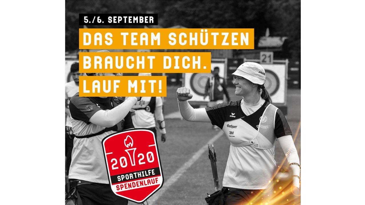 Bild: Deutsche Sporthilfe / Mitlaufen und Gutes tun beim Spendenlauf der Deutschen Sporthilfe am 5./6. September.