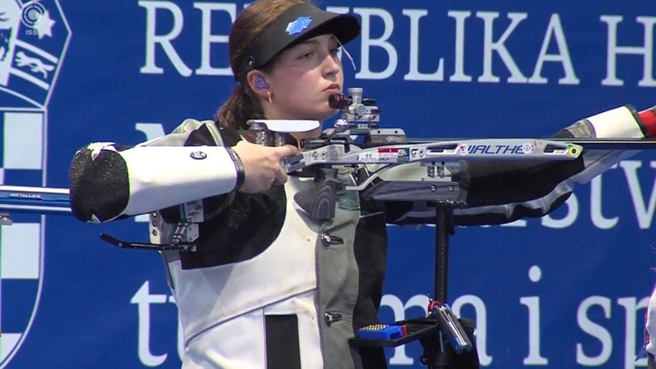 Foto: DSB / Starker Auftritt von Anna Janßen beim Weltcup in Osijek.
