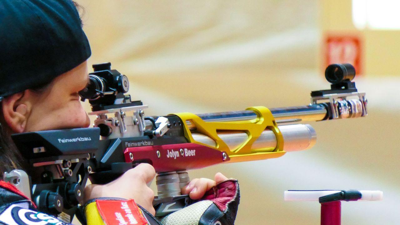Foto: DSB / Jolyn Beer zeigte eine gute Leistung mit dem Luftgewehr beim Weltcup in Peking.