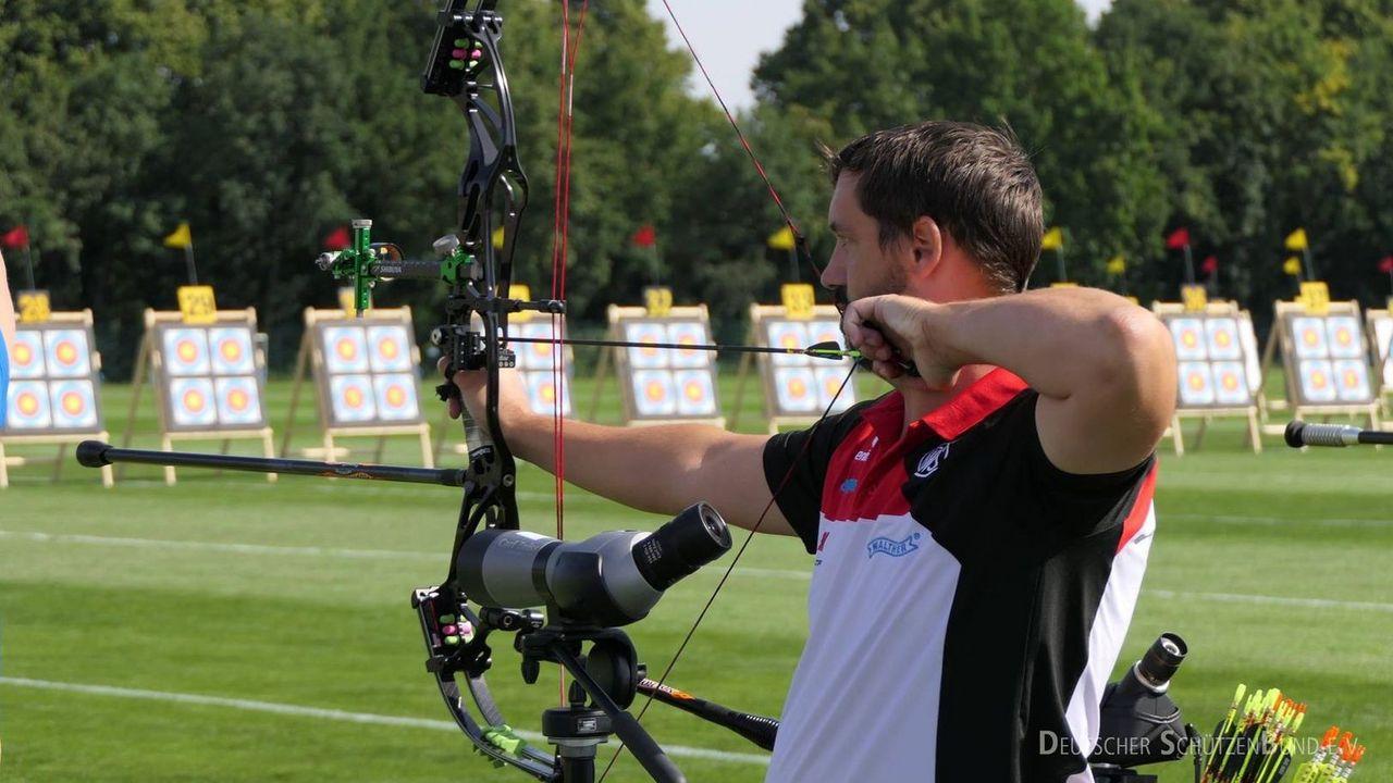 Foto: DSB / Compounder Marcus Laube will sich ins WM-Team schießen.