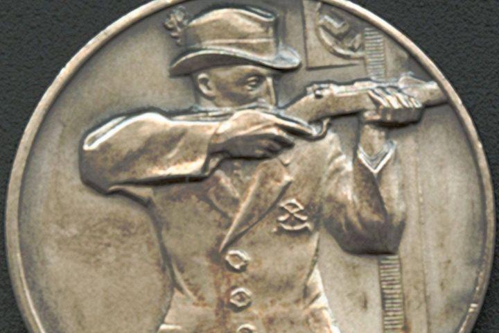 Medaille Meissen Bundesschießen, 1934